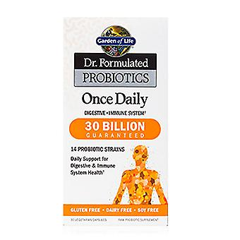 Garden of Life Dr. Formulated Probiotics Once Daily, 30 Caps