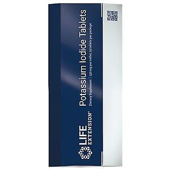 Life Extension Potassium Iodide Tablets, 130 mg, 14 tabs