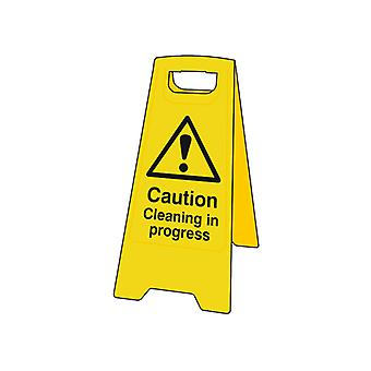 Scan Caution Cleaning In Progress Heavy-Duty A Board SCA4703