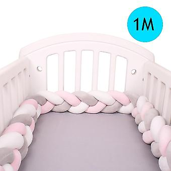 Newborn Baby Bed Braid Knot Bumper (1m/2m/3m/4m)
