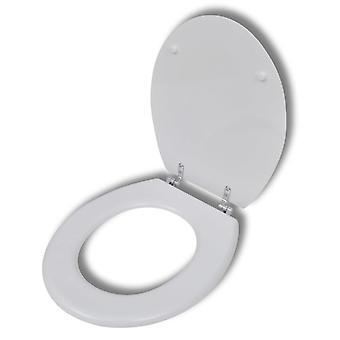 Wc-bril MDF deksel zonder automatische abstheding Design White