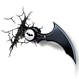 Batman's batarang 3d wall light