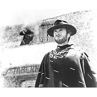 Für ein paar Dollar mehr Clint Eastwood 1965 Foto drucken