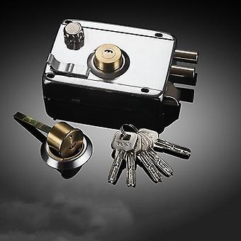 Exterior Universal Smooth Multiple Insurance Door Lock