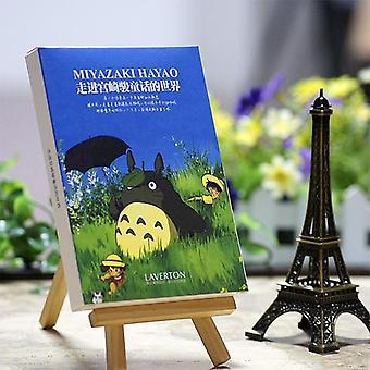 הייאו מיאזאקי ציור שמן גלויה / אופנה
