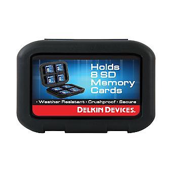 Delkin ασφαλής ψηφιακή θήκη μεταφοράς 8 καρτών