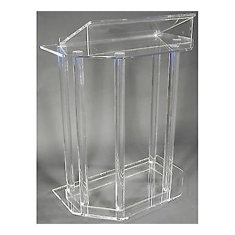 Modern Acrylic Smart Podium Plexiglass Pulpit School Church Lectern Podium