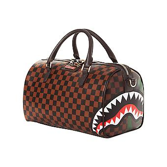 Sprayground Jungle Paris Split Mini Duffle Bag