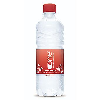 Jedna woda still strawberry 500ml x24
