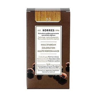 Permanent coloring argan oil, light golden blonde 8.3 1 unit