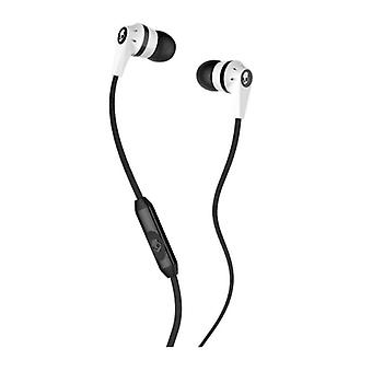 Skullcandy Ink'd 2.0 - In-Ear Earbuds with Microphone - White / Black
