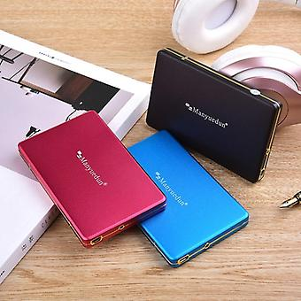 External Hard Drive Desktop Laptop Mobile Hard Drive Disk