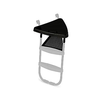 BERG black ladder platform trampoline accessory
