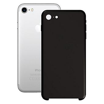 Mobiele cover iPhone 7/8/SE 2020 Contact Silk Black