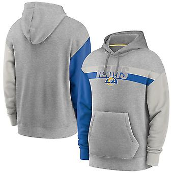 Män's Los Angeles Rams Pullover Hoodie Hooded Tröja 3WY211
