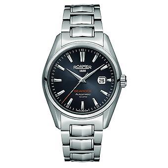 Roamer 210633 41 55 20 Searock Automatic Black Dial Wristwatch