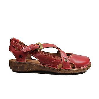 יוזף סייבל רוזלי 13 אדום עור נשים נעלי קיץ