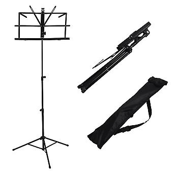 Foldable Aluminum Alloy Music Sheet Tripod Stand