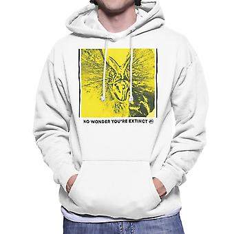 Jurassic Park Dilophosaurus No Wonder You Are Extinct Men's Hooded Sweatshirt