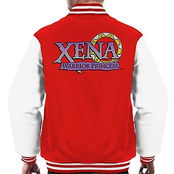Xena Warrior Princess Logo Män's Varsity Jacket