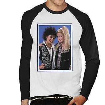 Weird Science Hilly And Deb Men's Baseball Long Sleeved T-Shirt