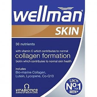 Vitabitics - Wellman Skin Tablets 60