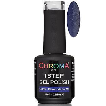 Chroma Gel One Step Gel Polish - Diamonds For Me