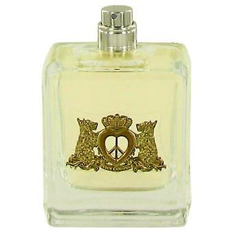 Peace Love & Juicy Couture Eau De Parfum Spray (Tester) By Juicy Couture 3.4 oz Eau De Parfum Spray
