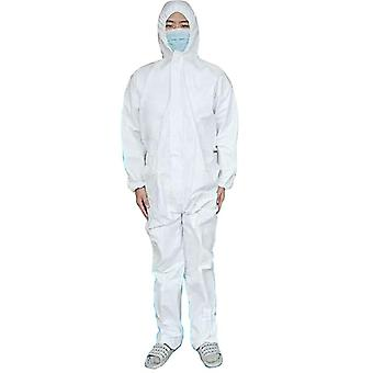 Wrap Foot Coverall Sms Chemical Safety Clothing