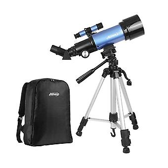 IPRee 20-120X 70mm Refractor Astronomy Telescope Adult Kids Beginner Monocular With Tripod Backpack