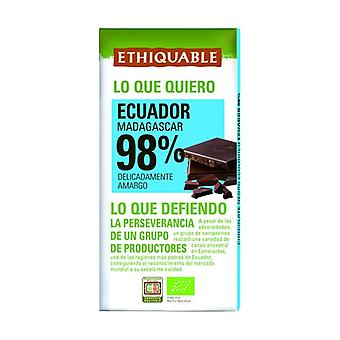 Chocolate Extrem Cocoa 98% Organic 100 g