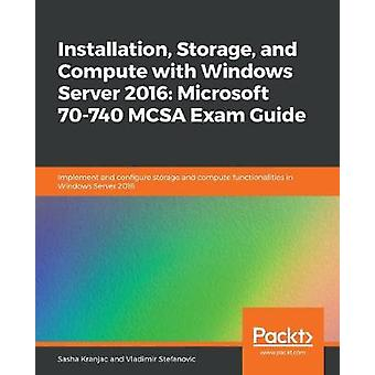 Installazione - Archiviazione e calcolo con Windows Server 2016 - Micro