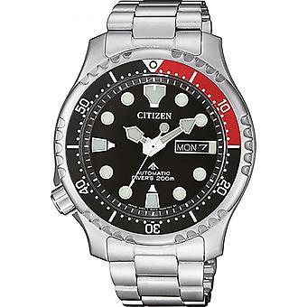 Orologio uomo CITIZEN OROLOGI NY0085-86E - Cinturino in acciaio grigio