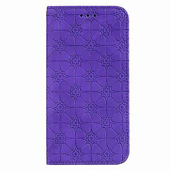 Shockproof Magnetic Leather Case for iPhone 11 6.1 - Purple