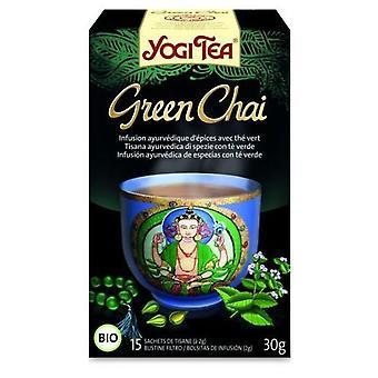 Yogi Tea Infusion Ayurvédique d'Épices au Thé Vert 15 sachets