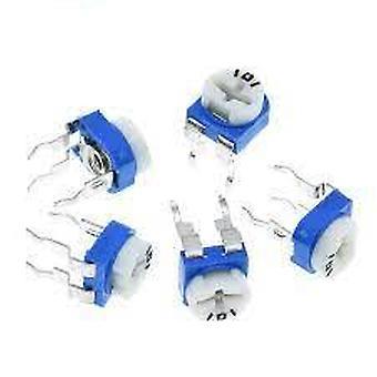 10pcs/los Rm065 Rm-065 1k-500k 1m Ohm Trimpot Trimmer Potentiometer Variable