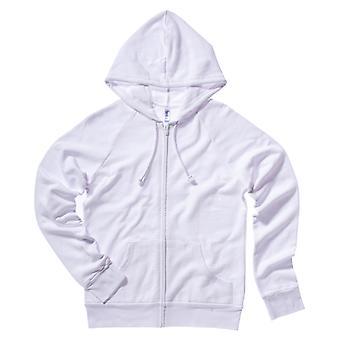 Bella + Canvas Womens/Ladies Fleece Raglan Hooded Sweatshirt / Hoodie
