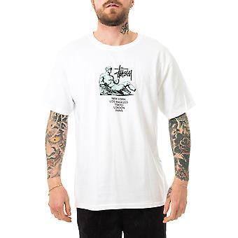 Men's t-shirt stussy dionysos tee white 1904654.white