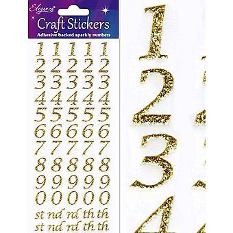 Oaktree UK Ltd - Eleganza Stylised Number Set Gold No.65