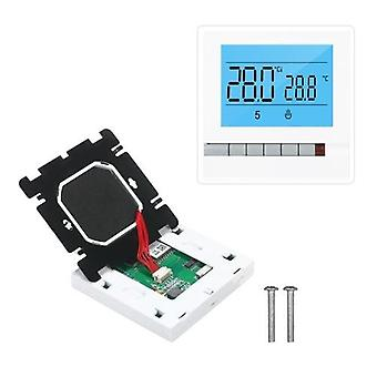 Tuya واي فاي الذكية تسخين المياه الحرارة تحكم درجة الحرارة القابلة للبرمجة متوافقة مع اليكسا جوجل الرئيسية LCD سكريب كبيرة مع الإضاءة الخلفية