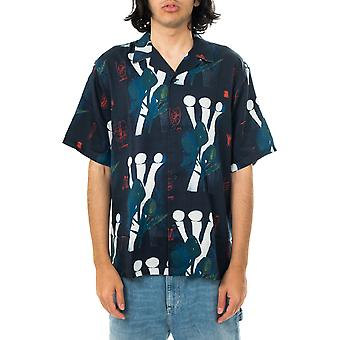 Camicia uomo carhartt wip tom krol flowers shirt lyocell  i028797.0bp