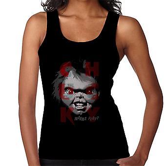 Chucky Doll wil Spelen Women's Vest