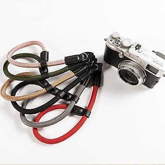 Wrist Handmade nylon Digital Camera Wrist Hand Strap Grip Braided Wristband For Canon Sony Leica Digital SLR Camera Belt