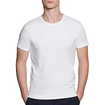 Seidensticker T-Shirt Rundhals Kurzarm Uni, White (Wei 1), XX-Large Men