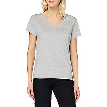 Lee V Neck Tee T-Shirt, mele Grigio, M Donna