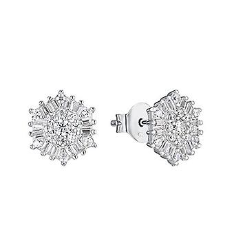 Liebe Damen Ohrringe in Sterling Silber 925, mit Zirkonen(4)
