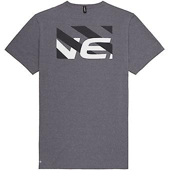 ONeill Tracered Short Sleeve T-Shirt in Mid Grey Melee