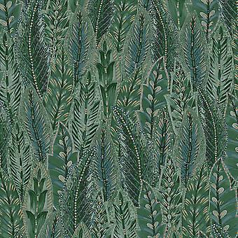 Amazonia Amherst Green Wallpaper Holden 91300