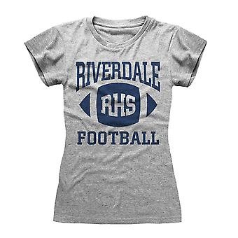 Riverdale Womens/Ladies RHS Football Heather Fitted T-Shirt