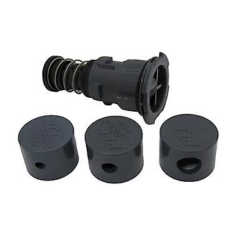Paramount 004552503202 Step Nozzle with Caps - Gray